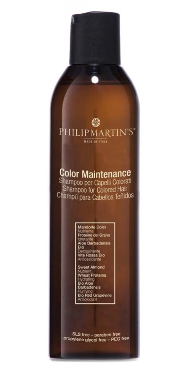 שמפו לשיער צבוע ולשיער שעבר טיפול באמצעות חומרים כימיים