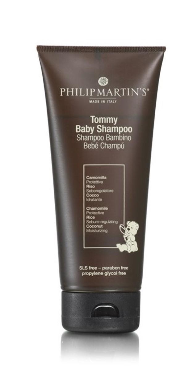 טומי שמפו לתינוקות - שמפו שפותח במיוחד לשערם העדין של תינוקות