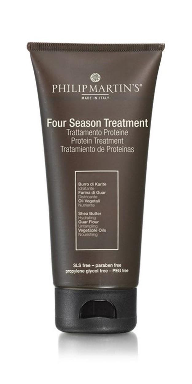 מסיכה לשיער דק, המכיל פרוטאין לשיער יבש, פגום, שעבר טיפולים כימיים