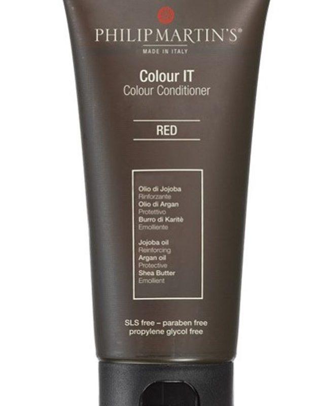 מסיכה לשיער צבע אדום, נוסחה ייחודית עשיר בשמן חוחובה, ארגן וחמאת שיאה