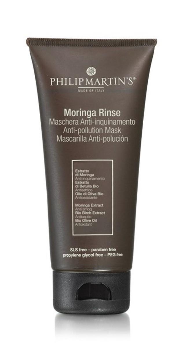 מסיכת לחות עם תמצית מורינגה מטהרת ומגינה על בריאות הקרקפת והשיער